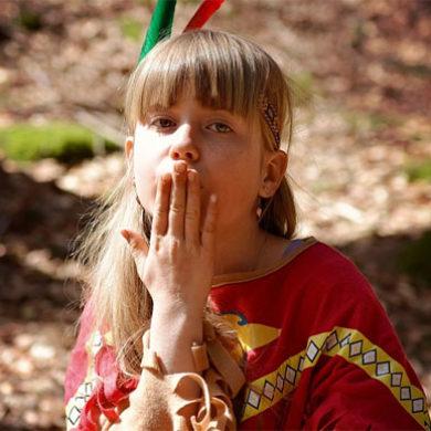 Básnička o indiánech