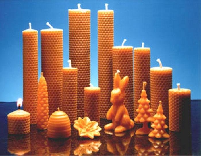 Jak se dělá svíčka I.