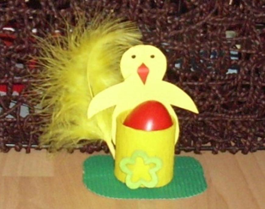 Vyrábíme stojánek na vajíčko – kuřátko