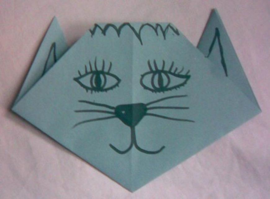 Origami – kočka