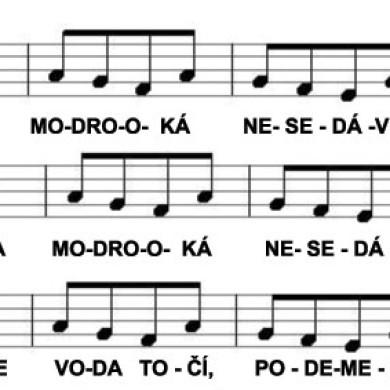 Písnička s omalovánkou: Holka modrooká
