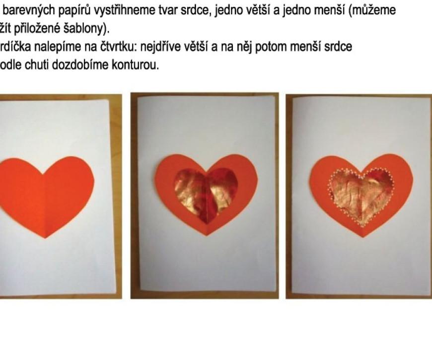 Hrajeme si s Beruškou: valentýnské srdce