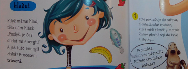 Obrázková encyklopedie pro děti – lidské tělo
