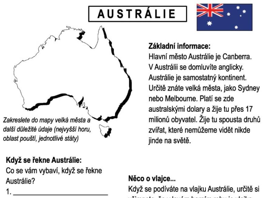 Letem světem – AUSTRÁLIE I.