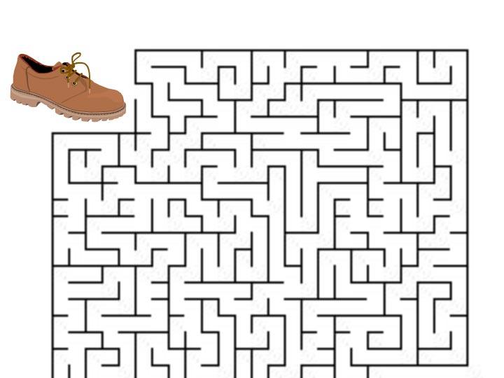 Bludiště – boty