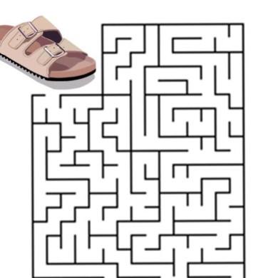 Bludiště – pantofle