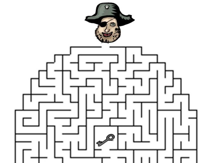 Bludiště – pirát