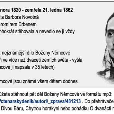 Dětští spisovatelé a ilustrátoři: Božena Němcová