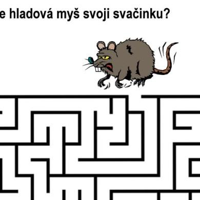 Bludiště – Hladová myš