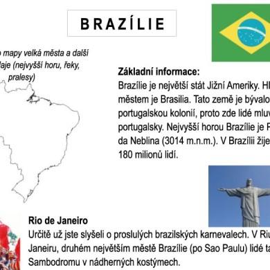 Letem světem – BRAZÍLIE