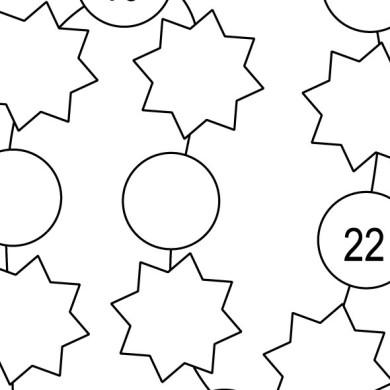 Násobkové korálky (9 listů)