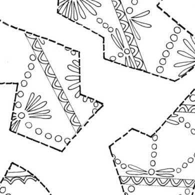 Obří kraslice – skládačka