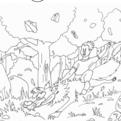 Omalovánka – Budulínek