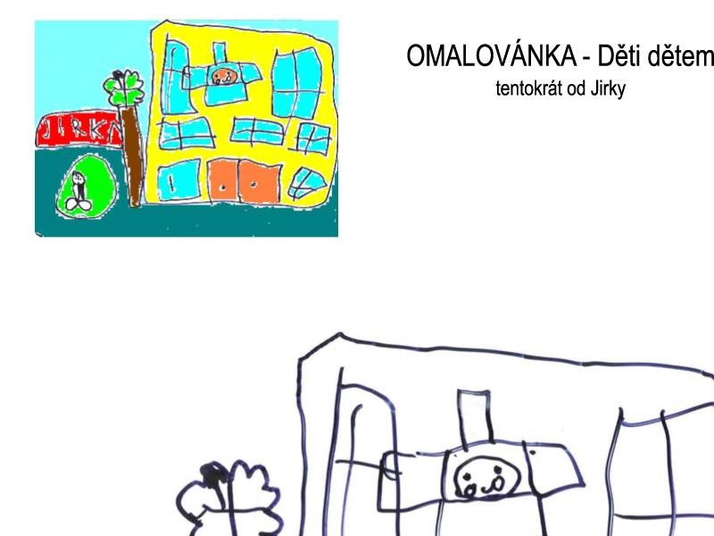 Omalovánky – děti dětem III.