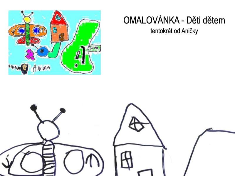 Omalovánky – děti dětem II.