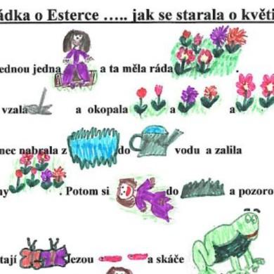 Pohádka o Esterce (malované čtení)