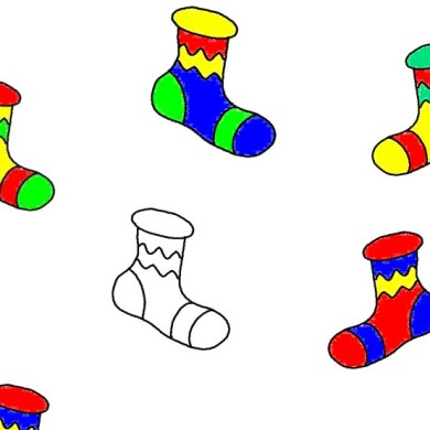 Najděte ponožky do páru