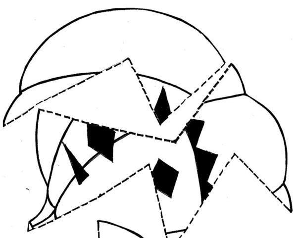 Skládačka – dýně