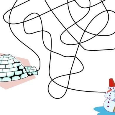 Cesta sněhuláků