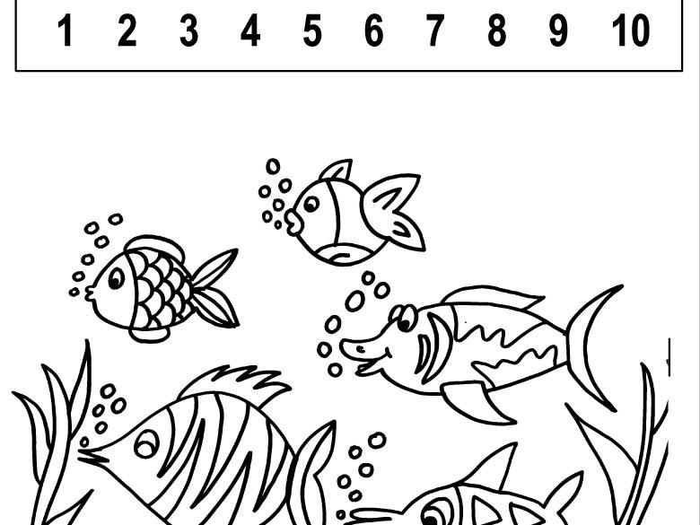 Spočítejte rybky