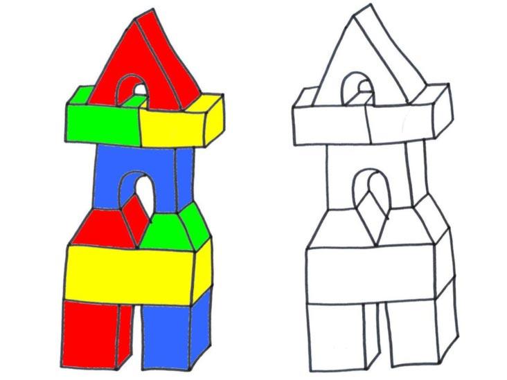 Stavíme kostky