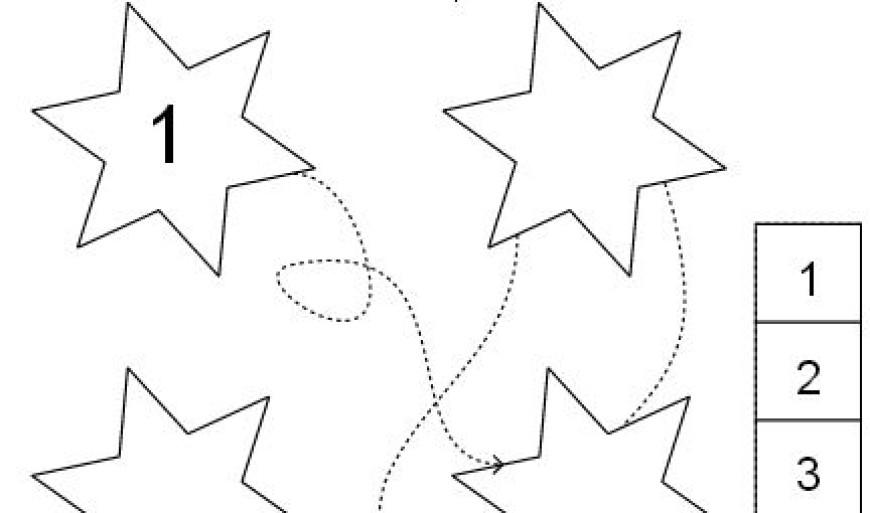 Cesta hvězdiček
