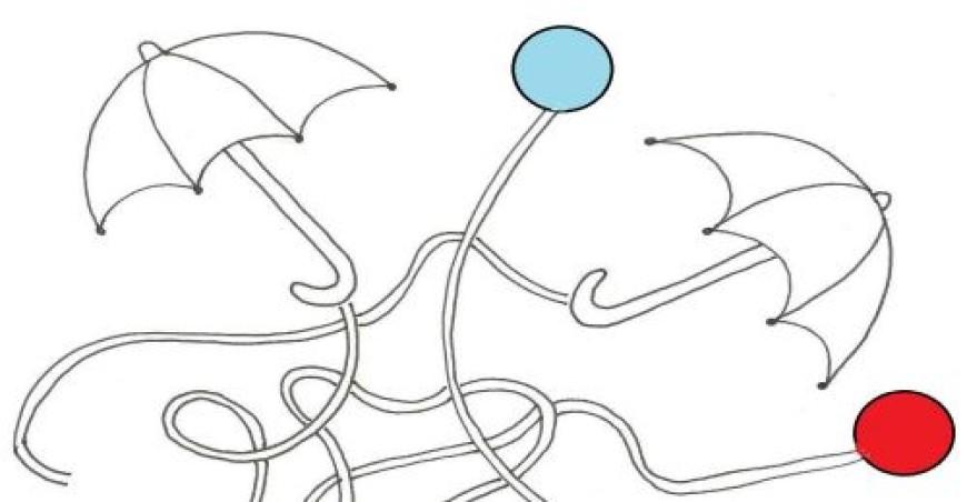Deštníkové bludiště