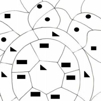 Geometrické tvary – želva
