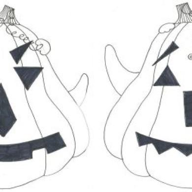 Halloween – hledání rozdílů