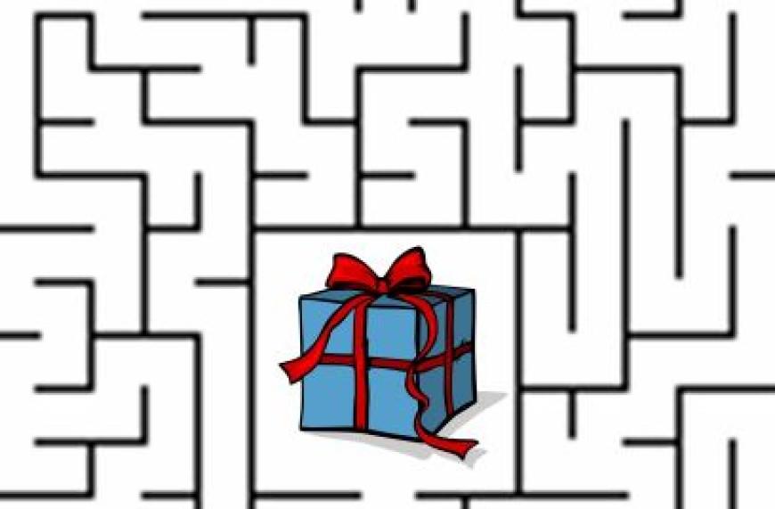 Kdo najde dárek?