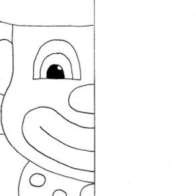 Dokreslovačka – klaun