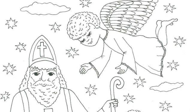 Mikuláš, čert a anděl