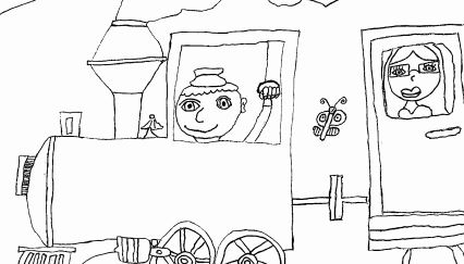 Omalovánky – děti dětem XVI.