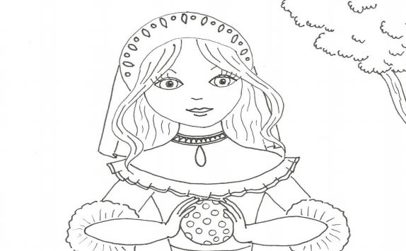 Omalovánka pro malé princezny
