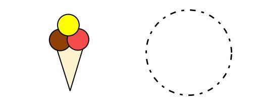 Vystřihovánka – zmrzlina