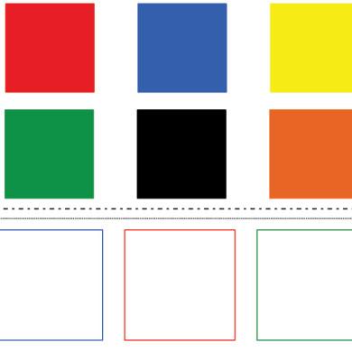 Barevné čtverce
