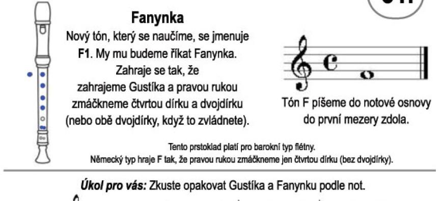 Škola hry na zobcovou flétnu – LEKCE 31