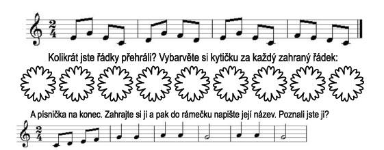 Škola hry na zobcovou flétnu – LEKCE 35