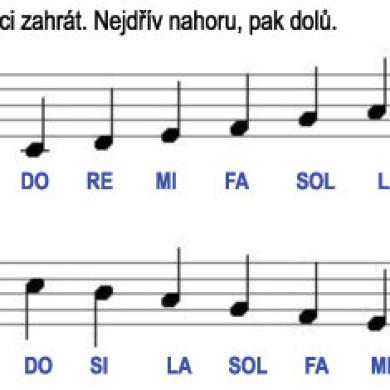 Škola hry na zobcovou flétnu – LEKCE 36.
