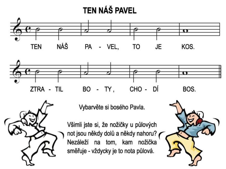 Škola hry na zobcovou flétnu – LEKCE ŠESTÁ