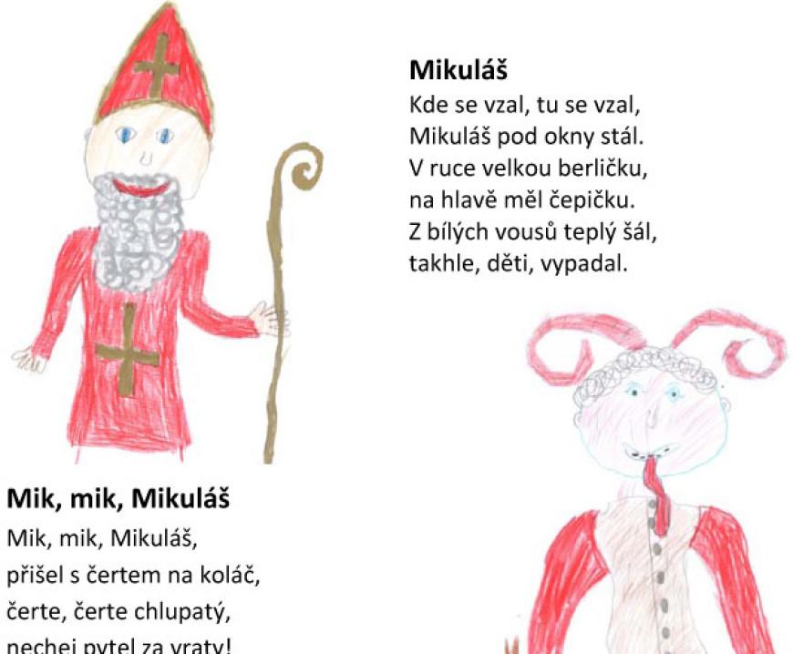 Říkanky pro Mikuláše a hlavně o něm