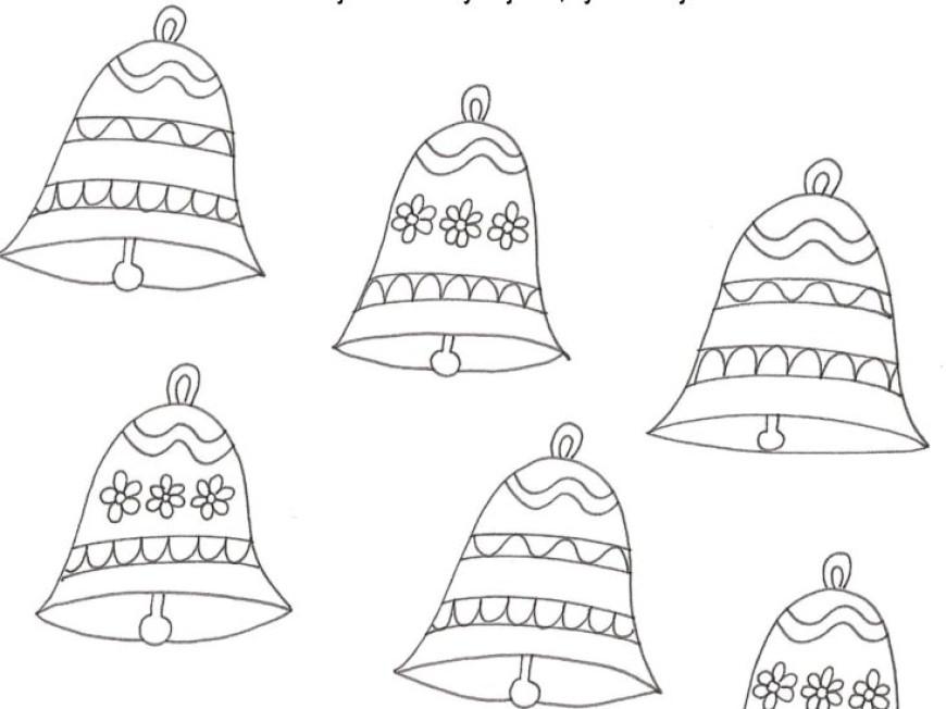 Najdete stejné zvonečky?