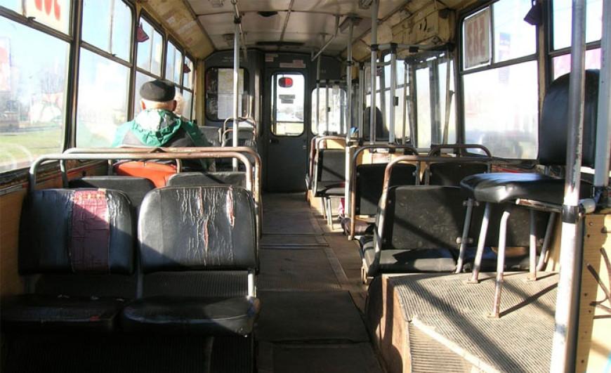 V trolejbusu