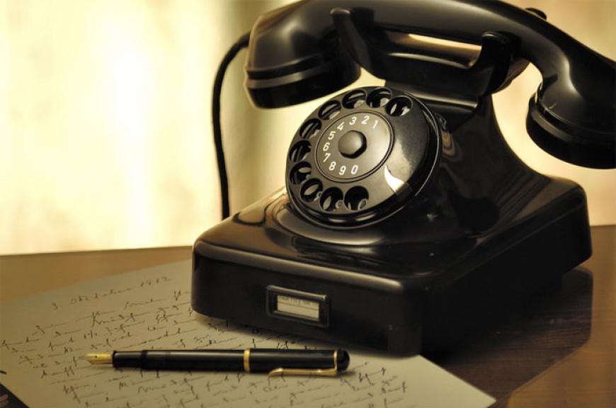 Básnička o telefonu