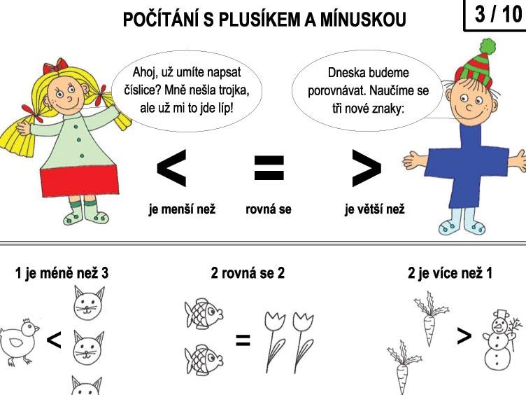 Počítání s Plusíkem a Mínuskou – 3/10