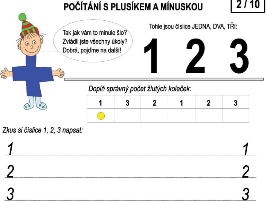 Počítání s Plusíkem a Mínuskou – 2/10