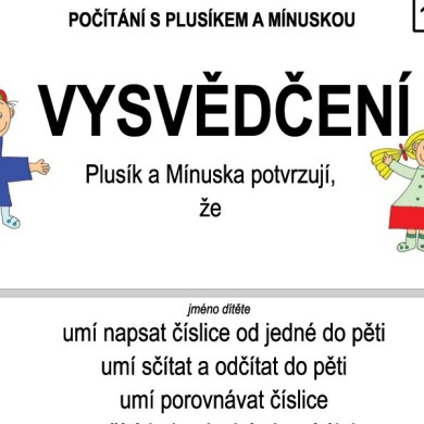 Počítání s Plusíkem a Mínuskou – 10/10