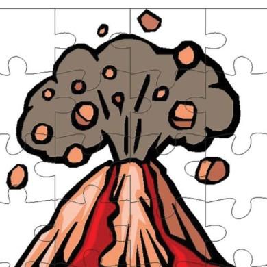 Puzzle – sopka