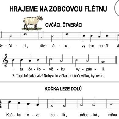 Škola hry na zobcovou flétnu – LEKCE DEVATENÁCTÁ