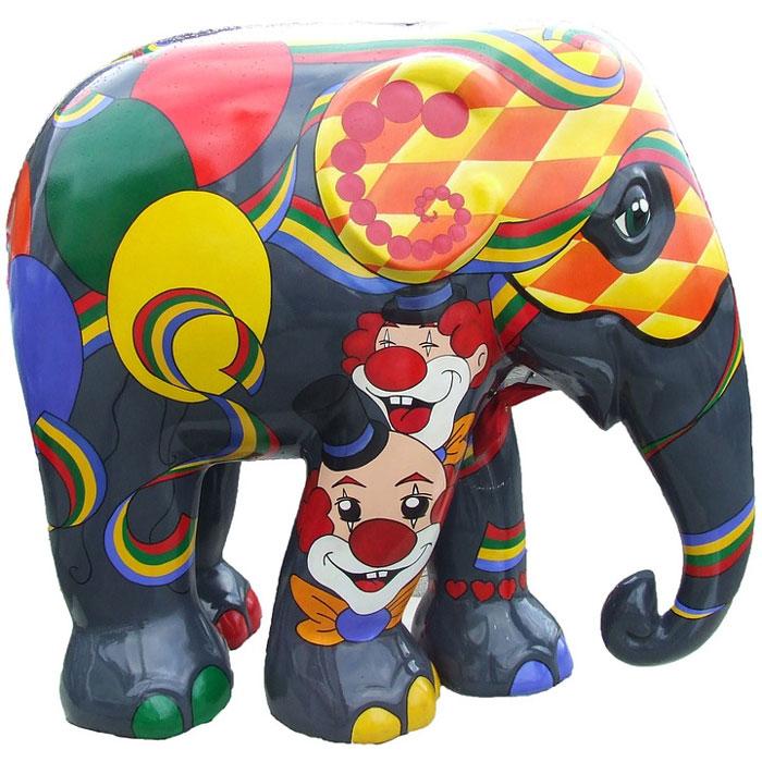 Básnička Hravý slon